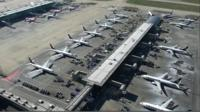 Grounded planes