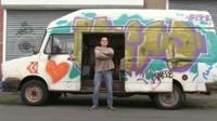 Tom Bates, New van-dweller