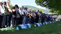 Burial at Srebrenica
