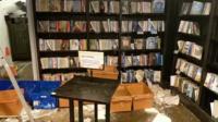 Water-damaged books