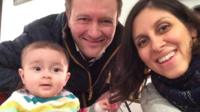 Gabriella, Richard and Nazanin.
