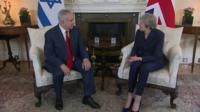 Benjamin Netanyahu and Theresa May