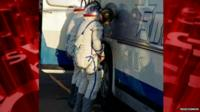 astronauts urinating by coach