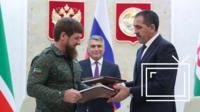 Кадыров и Евкуров