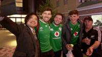 Rugby World Cup supporters