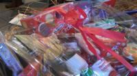 hampers for Syrian refugees