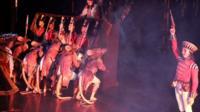 A performance of Birmingham Royal Ballet's The Nutcracker