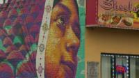 A mural in Hamtramck