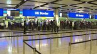 UK border airport control
