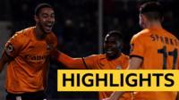 Highlights: Bristol Rovers 1-2 Barnet