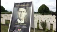 Memorial service for Welsh poet Hedd Wyn