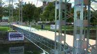Meccano bridge