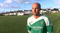 Andy Johnson from New Quay Football Club