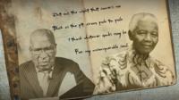 Andrew Mlangeni and Nelson Mandela