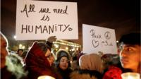 A vigil for victims of Quebec City mosque attack: 'We cannot let the racists win'