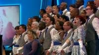 The Lewisham and Greenwich NHS Choir on BBC Two's The Choir: Sing While You Work