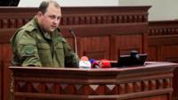Дмитрий Трапезников в парламенте ДНР