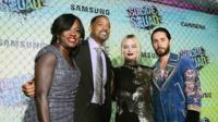 Viola Davis, Will Smith, Margot Robbie, and Jared Leto