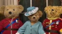 Gyles Brandreth's bear collection