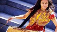 British dhol dum player Prav Kaur