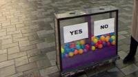 Daily Politics moodbox in Maidenhead