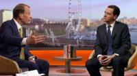 George Osborne on the Andrew Marr Show