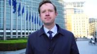 BBC Brussels Reporter Adam Fleming.
