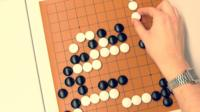 A man playing Go