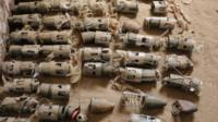 Кассетные бомбы британского производства в Йемене