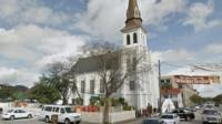 The Emanuel AME Church in Charleston