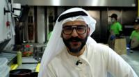 Mohamed Al Awadhi in the kitchen of Wild Peeta in Dubai, UAE