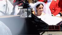 Meghan in carriage