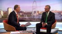 Andrew Marr and Michael Gove