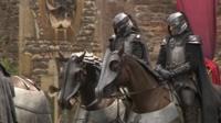 Filming of The Huntsman in Wells