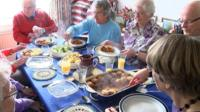 Food and Friends is a lunch club in Mendlesham, Suffolk and is a lifeline for many in the village.