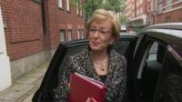 It would be 'fantastic' if the German Chancellor reopened the withdrawal deal, says Andrea Leadsom.