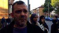 Male resident of Grenfell Tower