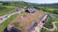 Ysgol Craig y Deryn, Llanegryn (Pic: Aerial Photography Pros)