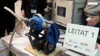 3D-printed ventilator prototype