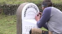 Milestone marker work