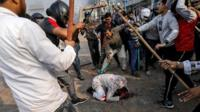 An image of Mohammad Zubair being brutally beaten became the defining image of the Delhi riots.