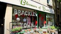 Brackley shop window