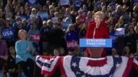 Senator Warren says 'nasty women' will sink Trump