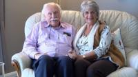 Eric Parrish and Yvonne Watson, from Norfolk, first met in 1946.