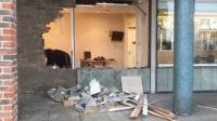 Ram-raid at Barclays in Basildon