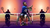 After losing his leg in a bus accident, Juma Hamisi started playing in the Tanzanian wheelchair tennis national team.