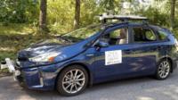 The MapLite autonomous car