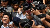 Reuters journalist Wa Lone speaks out after being sentenced in Myanmar