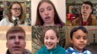 Pupils across Wales