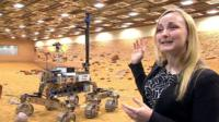 Abbie Huttey and ExoMars rover